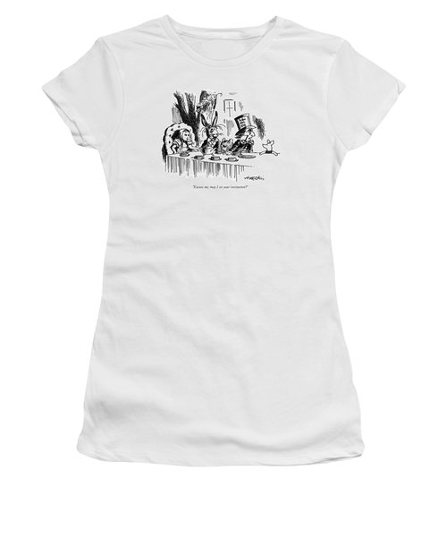 Excuse Me, May I See Your Invitation? Women's T-Shirt