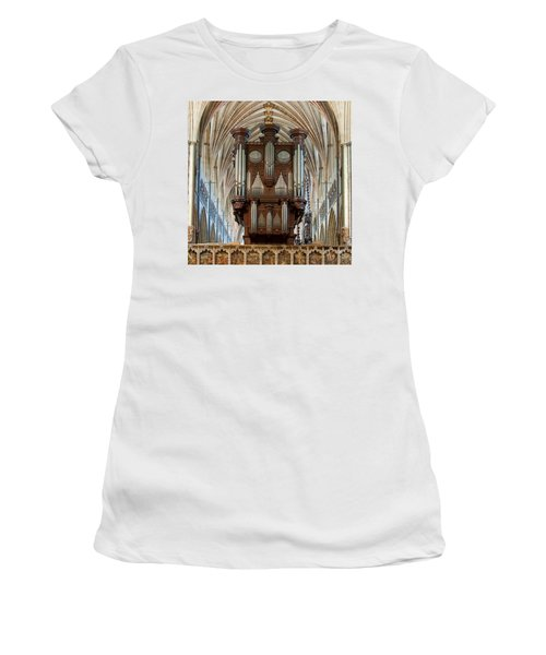 Exeter's King Of Instruments Women's T-Shirt (Athletic Fit)