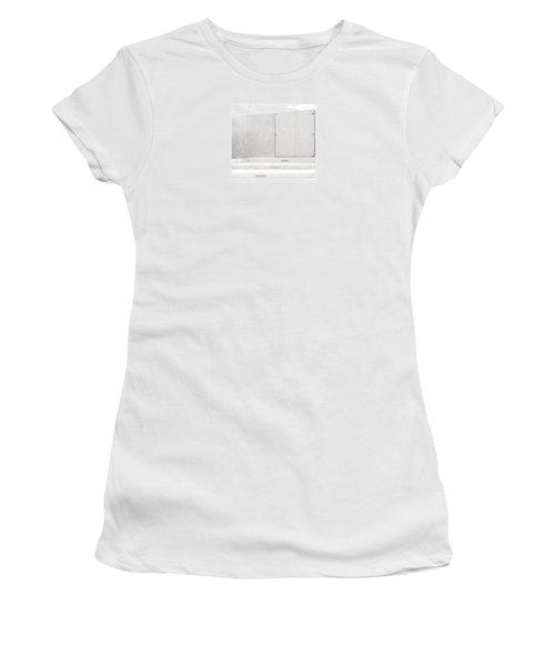 Women's T-Shirt (Junior Cut) featuring the photograph Exit Only by Darryl Dalton