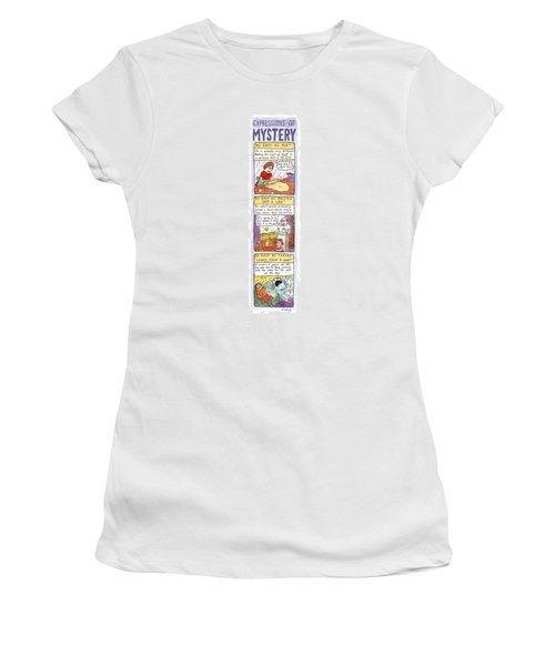 Expressions Of Mystery Women's T-Shirt