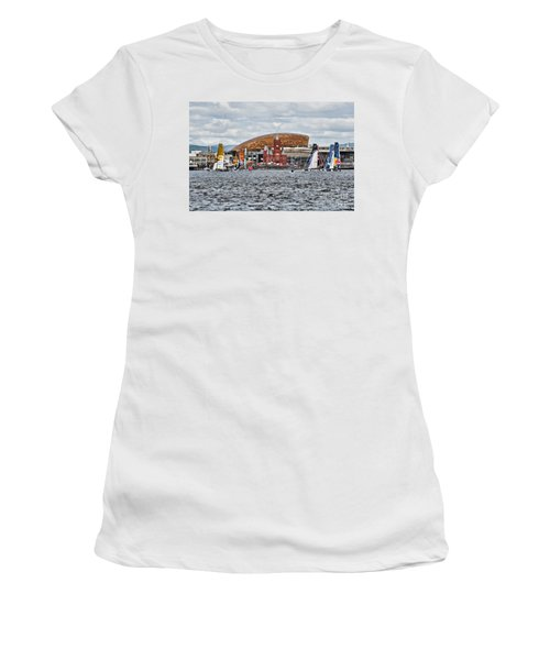 Extreme 40 At Cardiff Bay Women's T-Shirt (Athletic Fit)