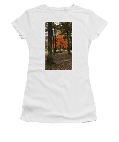 Fall Brings Changes  Women's T-Shirt (Athletic Fit)