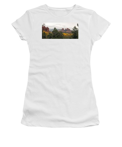 Fall Color Sedona 0495 Women's T-Shirt