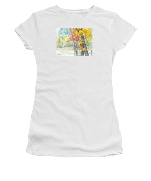 Fall Dreams Women's T-Shirt (Athletic Fit)