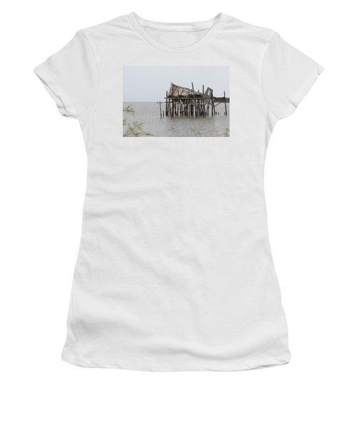 Fallen Deckhouse Women's T-Shirt (Athletic Fit)