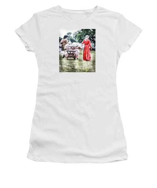 Women's T-Shirt featuring the photograph Family Rollin' by Stwayne Keubrick