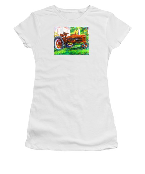 Farmall Tractor Women's T-Shirt (Athletic Fit)