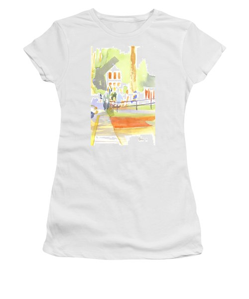 Farmers Market II  Women's T-Shirt (Junior Cut) by Kip DeVore