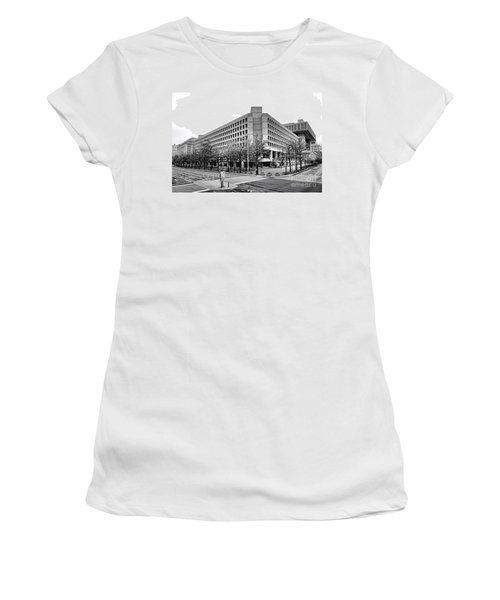 Fbi Building Front View Women's T-Shirt