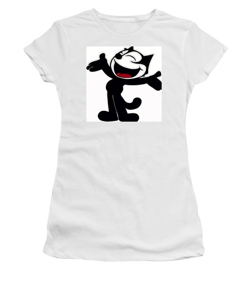 Felix The Cat Women's T-Shirt (Athletic Fit)