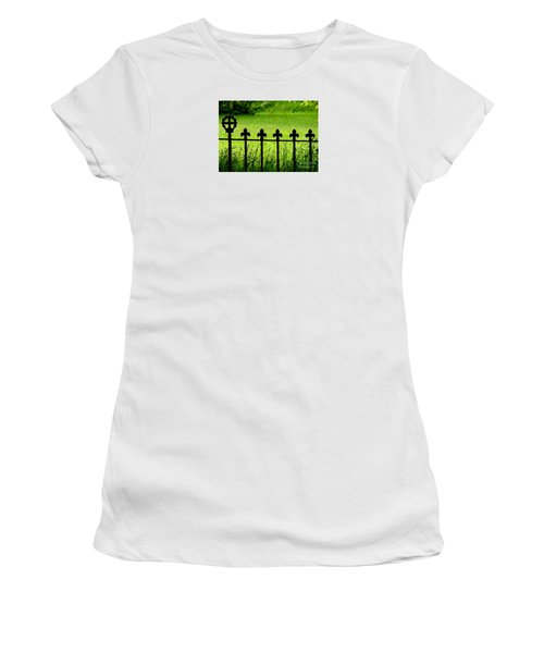 Fence And Cross Women's T-Shirt