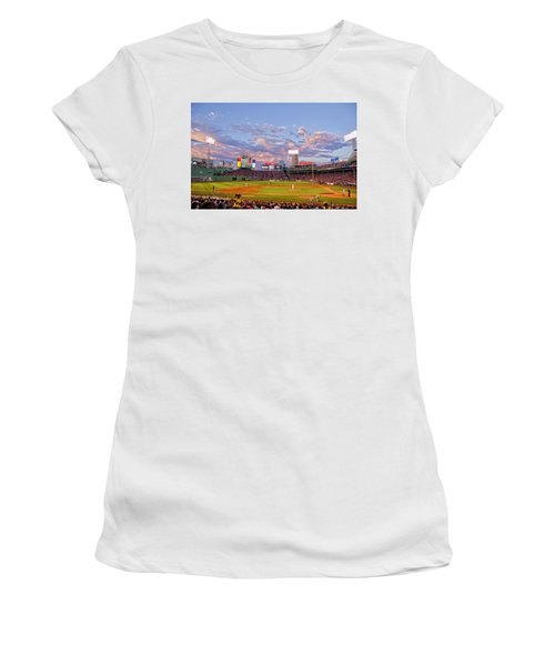 Fenway Night Women's T-Shirt (Athletic Fit)