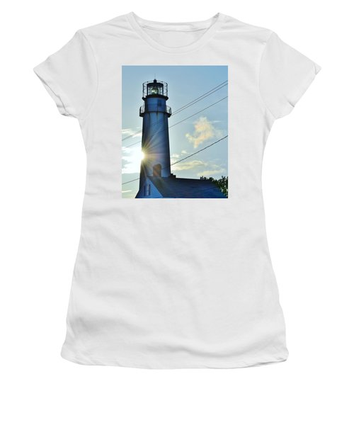Fenwick Island Lighthouse - Delaware Women's T-Shirt (Athletic Fit)