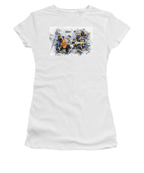 Fernando Alonso Women's T-Shirt (Athletic Fit)