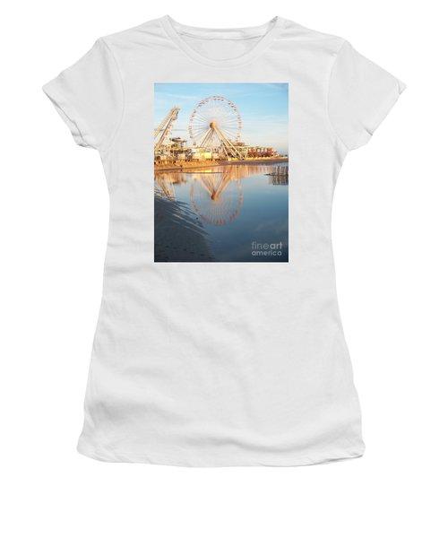Ferris Wheel Jersey Shore 2 Women's T-Shirt (Athletic Fit)
