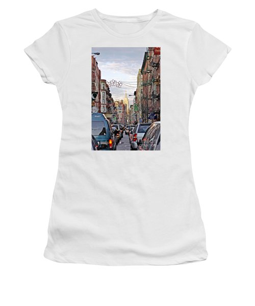 Festive Nyc Women's T-Shirt (Athletic Fit)