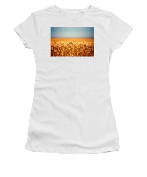 Field Of Wheat Women's T-Shirt