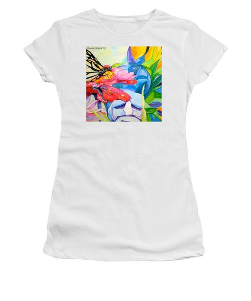 Fiji Dreams - Original Watercolor Painting Women's T-Shirt