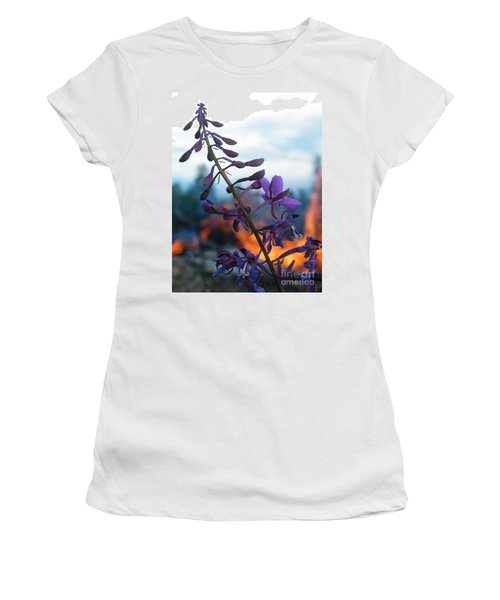 Fireweed Number Five Women's T-Shirt (Junior Cut) by Brian Boyle