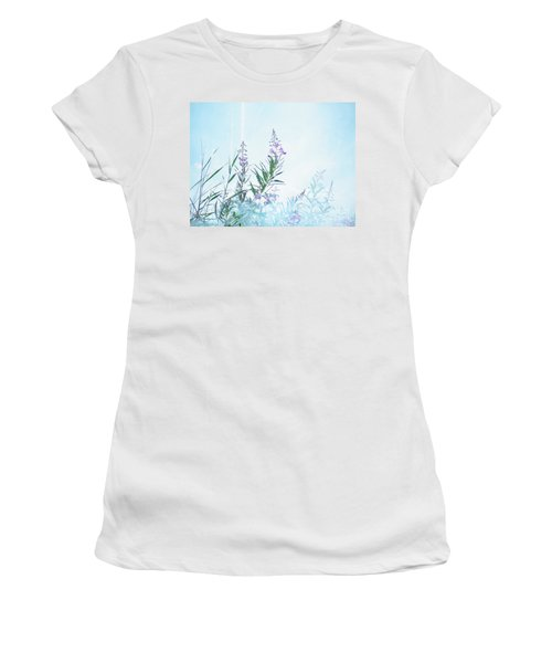 Fireweed Number Two Women's T-Shirt (Junior Cut) by Brian Boyle