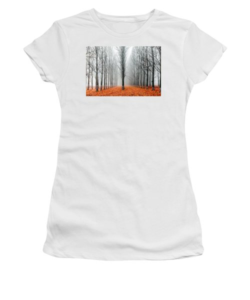 First In The Line Women's T-Shirt