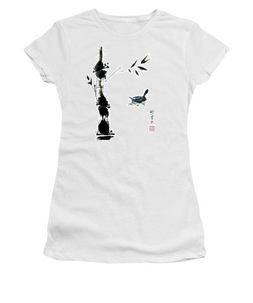 First Reflection Women's T-Shirt (Junior Cut) by Bill Searle