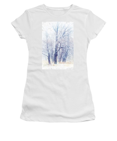First Snow. Dreamy Wonderland Women's T-Shirt