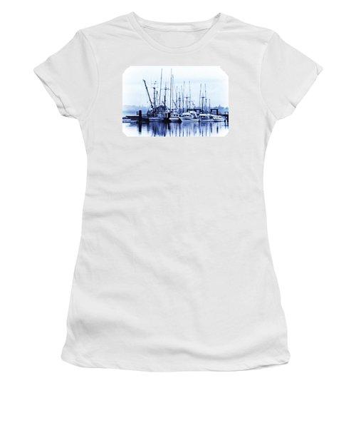 Fishers' Wharf Women's T-Shirt (Junior Cut) by Richard Farrington