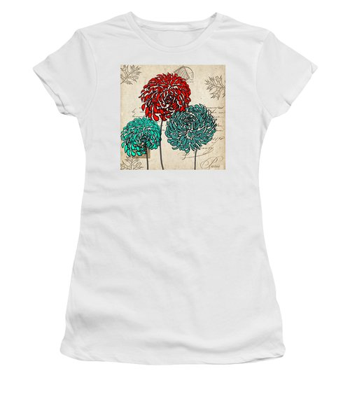Floral Delight Iv Women's T-Shirt (Athletic Fit)