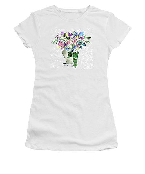 Floral Vase Women's T-Shirt