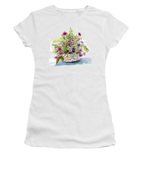 Flower Basket I Women's T-Shirt