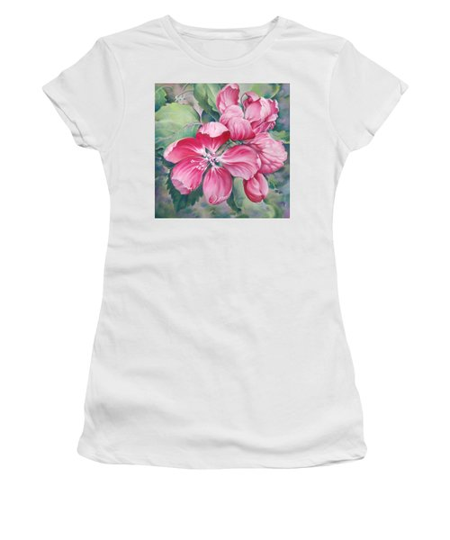 Flower Of Crab-apple Women's T-Shirt (Athletic Fit)