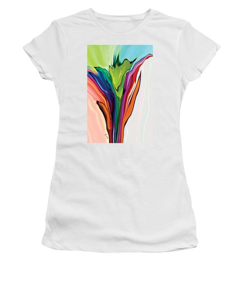 Flowery 5 Women's T-Shirt (Athletic Fit)