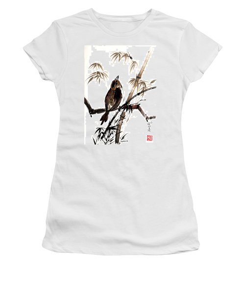 Focus Women's T-Shirt (Junior Cut) by Bill Searle