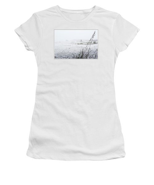 Foggy Beach Women's T-Shirt