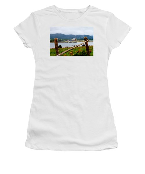 Foggy Day In Cheticamp Women's T-Shirt