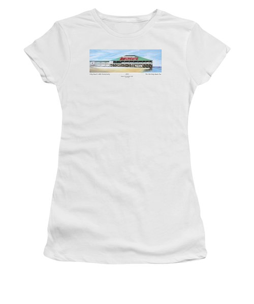 Folly Beach Original Pier Women's T-Shirt