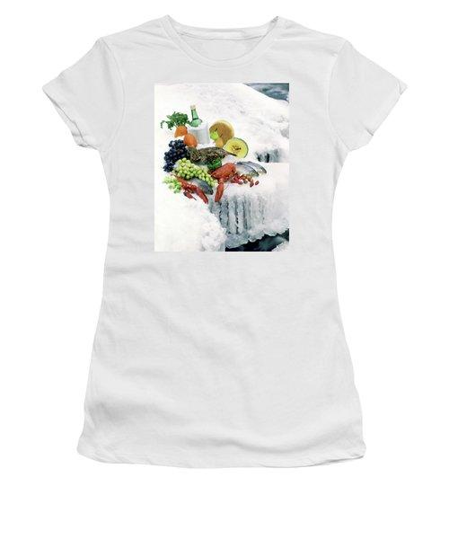 Food On Ice Women's T-Shirt
