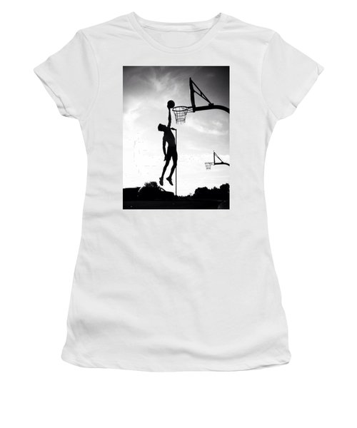 For The Love Of Basketball  Women's T-Shirt (Athletic Fit)