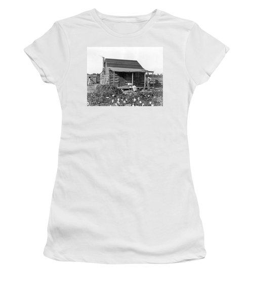 Former Slaves At Their Cabin Women's T-Shirt