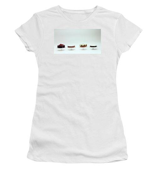 Four Cakes Side By Side Women's T-Shirt