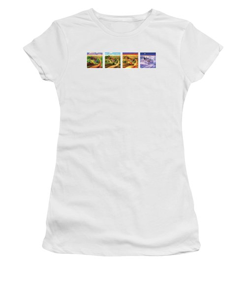 Four Seasons On The Farm Women's T-Shirt