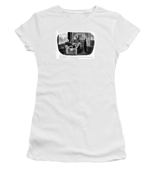 Frankly, Mccurdy, It Is Very Discouraging To Hear Women's T-Shirt