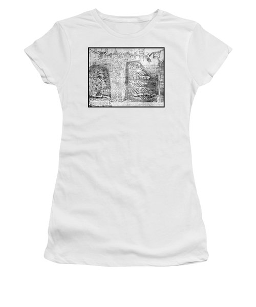 French And Indian War, Battle Of Lake Women's T-Shirt