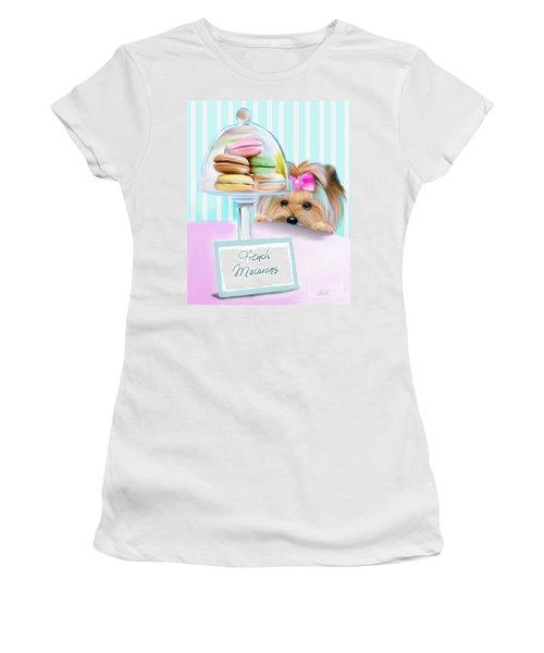 French Macarons Women's T-Shirt