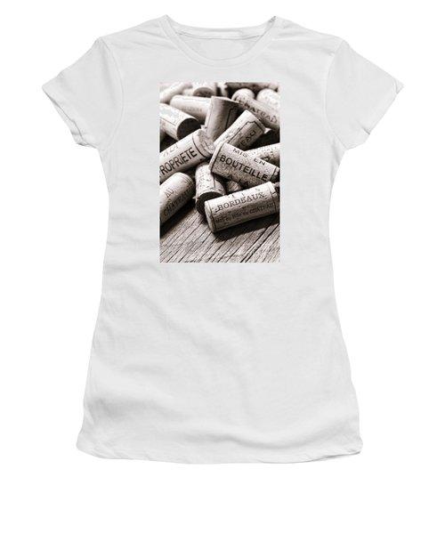 French Wine Corks Women's T-Shirt