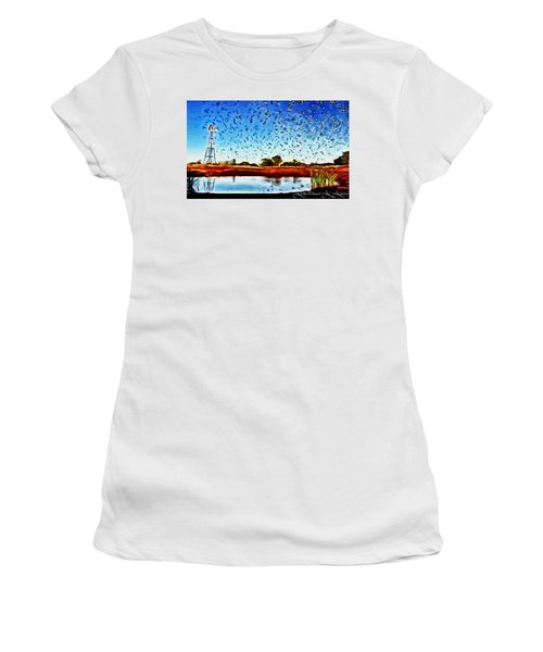 Fresh Mill Women's T-Shirt (Athletic Fit)