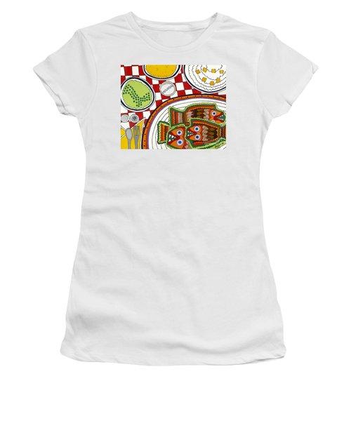 Friday Women's T-Shirt (Junior Cut) by Rojax Art