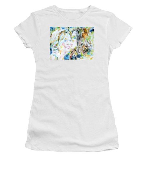Friends Women's T-Shirt (Junior Cut) by Fabrizio Cassetta
