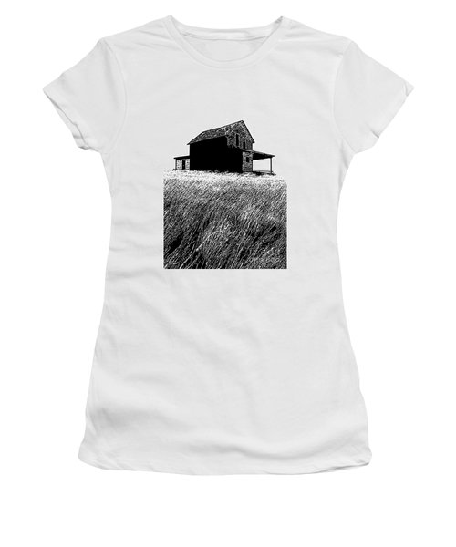 Women's T-Shirt (Junior Cut) featuring the photograph From Days Gone By by Vivian Christopher